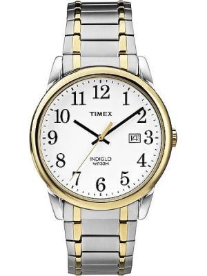 Часы TIMEX. Цвет: золотистый, серебристый