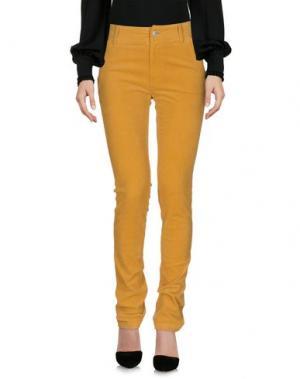 Повседневные брюки TSUMORI CHISATO. Цвет: охра