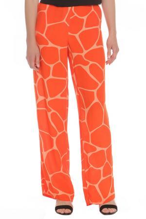 Брюки Armani Jeans. Цвет: оранжевый