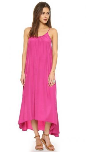 Макси-платье Resort ONE by Pink Stitch. Цвет: виноградная лоза