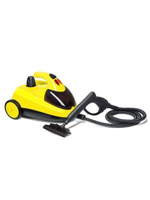 Пароочиститель КТ-908-2 желтый Kitfort. Цвет: желтый