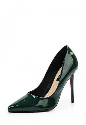 Туфли Cuple. Цвет: зеленый
