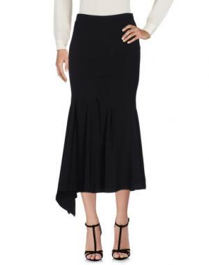 Длинная юбка DIDIER PARAKIAN. Цвет: черный