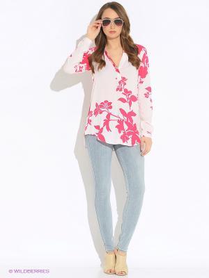 Блузка Vero moda. Цвет: кремовый