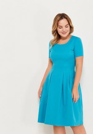 Платье Aelite. Цвет: бирюзовый
