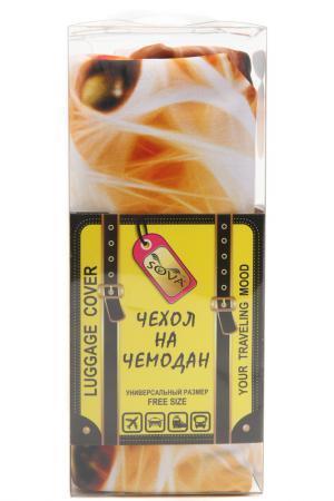 Чехол на чемодан SOVA COVER. Цвет: лев