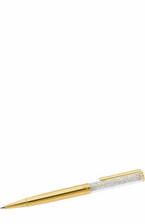 Шариковая ручка Crystalline Swarovski. Цвет: золотой