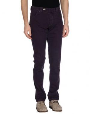 Повседневные брюки MASTAI FERRETTI. Цвет: фиолетовый