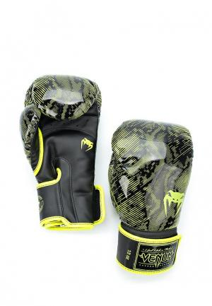 Перчатки боксерские Venum. Цвет: желтый