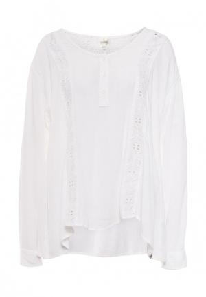 Блуза Volcom. Цвет: белый