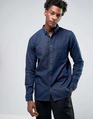 Dr Denim Джинсовая рубашка стандартного кроя Mick. Цвет: синий
