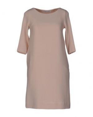 Короткое платье OTTOD'AME. Цвет: розовый