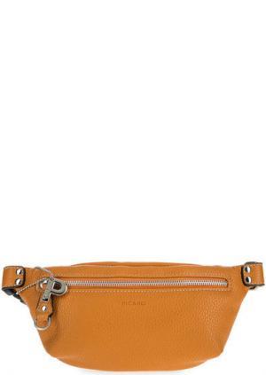 Поясная сумка на молнии Picard. Цвет: оранжевый