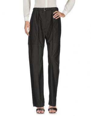 Повседневные брюки LEMAIRE. Цвет: темно-зеленый