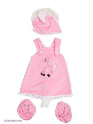 Карнавальный костюм Лошадки Пинки Батик. Цвет: розовый