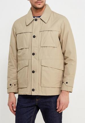 Куртка утепленная Mango Man. Цвет: бежевый