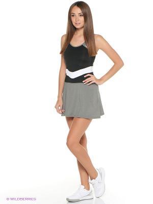 Платье Alice Dress HEAD. Цвет: серый