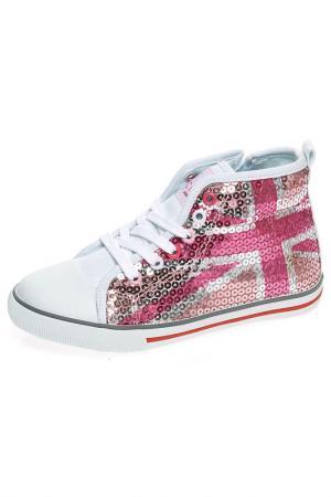 Ботинки Ciao Bimbi. Цвет: розовый