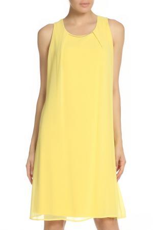Платье VALTUSI. Цвет: желтый