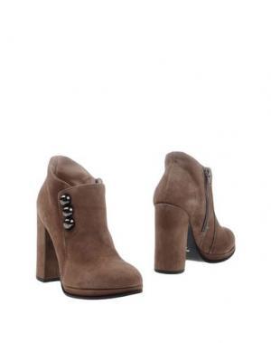 Ботинки ELIANA BUCCI. Цвет: хаки