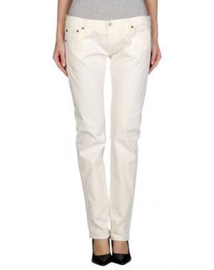 Джинсовые брюки NOLITA DE NIMES. Цвет: белый