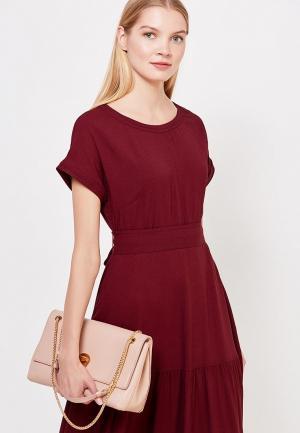 Платье Weekend Max Mara. Цвет: бордовый