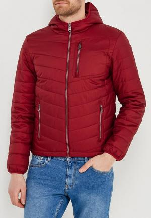 Куртка утепленная Sela. Цвет: бордовый
