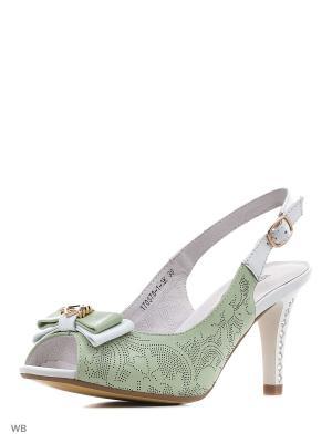 Туфли Renaissance. Цвет: светло-зеленый