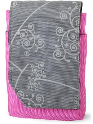 Era Pro Чехол для фотоаппарата EP-011103  11,5*7*2,8 см. Цвет: розовый, серый