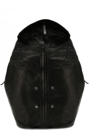 Кожаный рюкзак Isaac Sellam. Цвет: черный