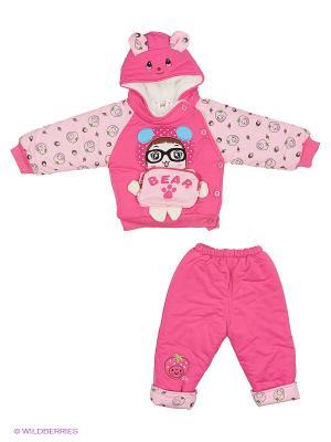 Комплект Happy Bear. Цвет: розовый