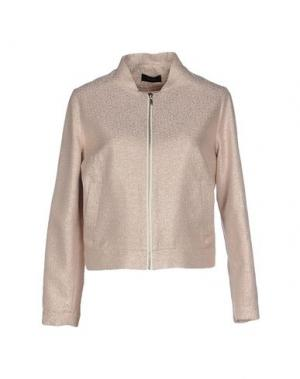 Куртка MALAICA. Цвет: светло-розовый
