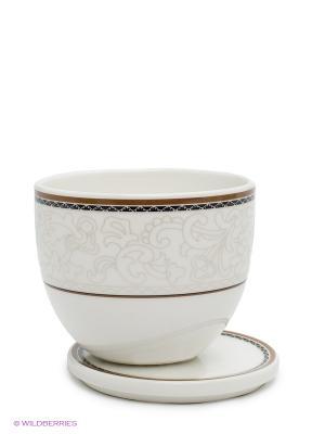Сахарница с крышкой 0,20 л. Кассие Royal Porcelain. Цвет: белый