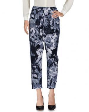 Повседневные брюки ZUCCA. Цвет: серый