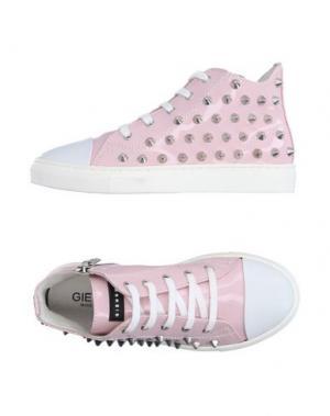 Высокие кеды и кроссовки GIENCHI. Цвет: светло-розовый