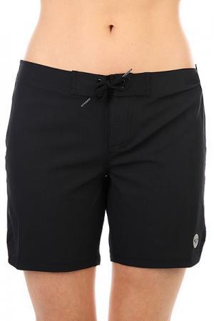 Шорты пляжные женские  To Dye 7 Bs True Black Roxy. Цвет: черный