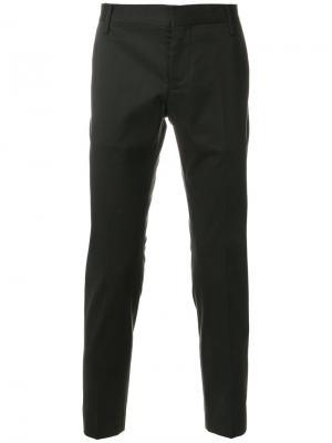 Зауженные брюки Entre Amis. Цвет: серый