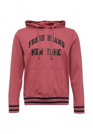 Худи Fresh Brand. Цвет: бордовый