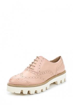 Ботинки Lamania. Цвет: розовый