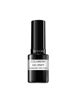 Верхнее покрытие для ногтей закрепляющее Colorstay Gel Envy, Top coat 010 Revlon. Цвет: прозрачный