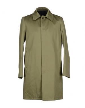 Легкое пальто MARIO MATTEO. Цвет: зеленый-милитари