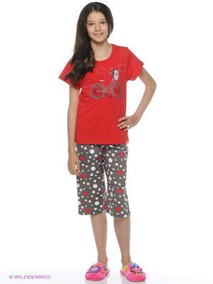 Комплект одежды Vienetta Secret. Цвет: красный