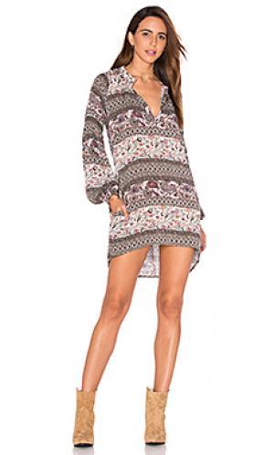 Платье miss de barres Stillwater. Цвет: розовый
