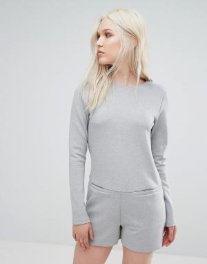 D.RA Ромпер Tiffany. Цвет: серый