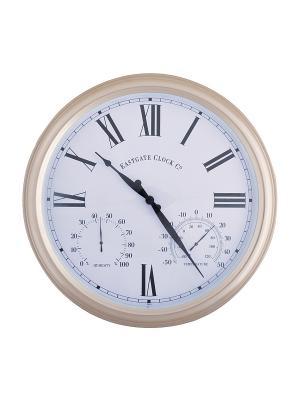 Часы TF012 Esschert Design. Цвет: белый