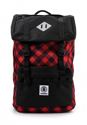Рюкзак Invicta. Цвет: красный