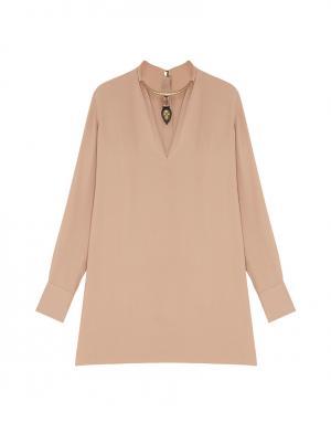 Шелковая блузка Valentino. Цвет: none