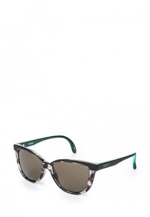 Очки солнцезащитные Roxy. Цвет: разноцветный