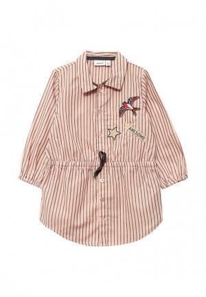 Рубашка Name It. Цвет: розовый