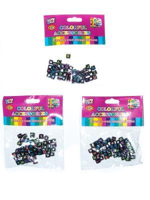 Кубики для поделок Bizon. Цвет: черный